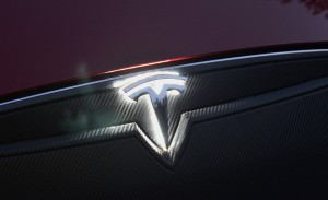 Tesla Model S Lighted T