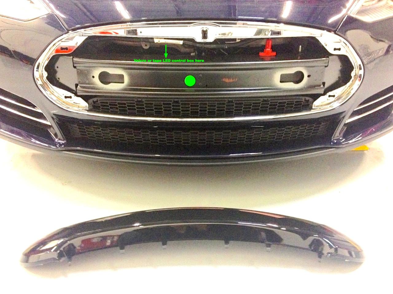 Tesla Model S Lighted T Oznium Mount tesla model s lighted t installation instructions tesla model s fuse box at gsmx.co