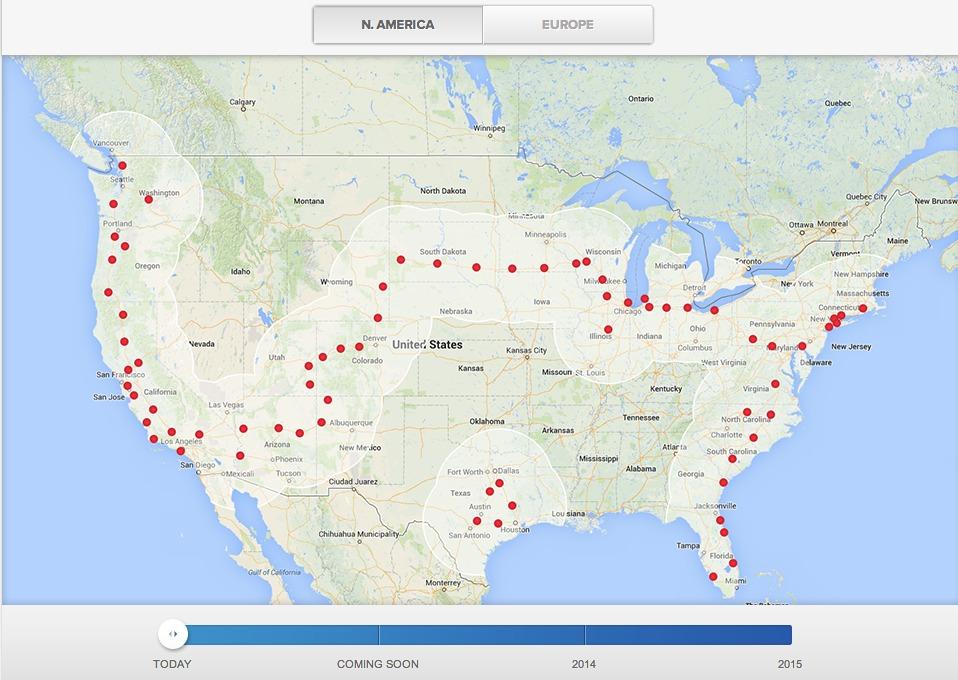 Tesla-Supercharger-Map