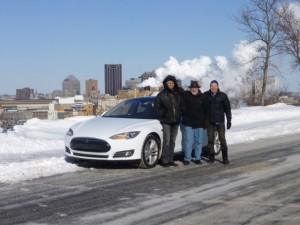 Tesla Minnesota Model S Electric Road Trip