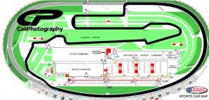 Auto Club Speedway Track