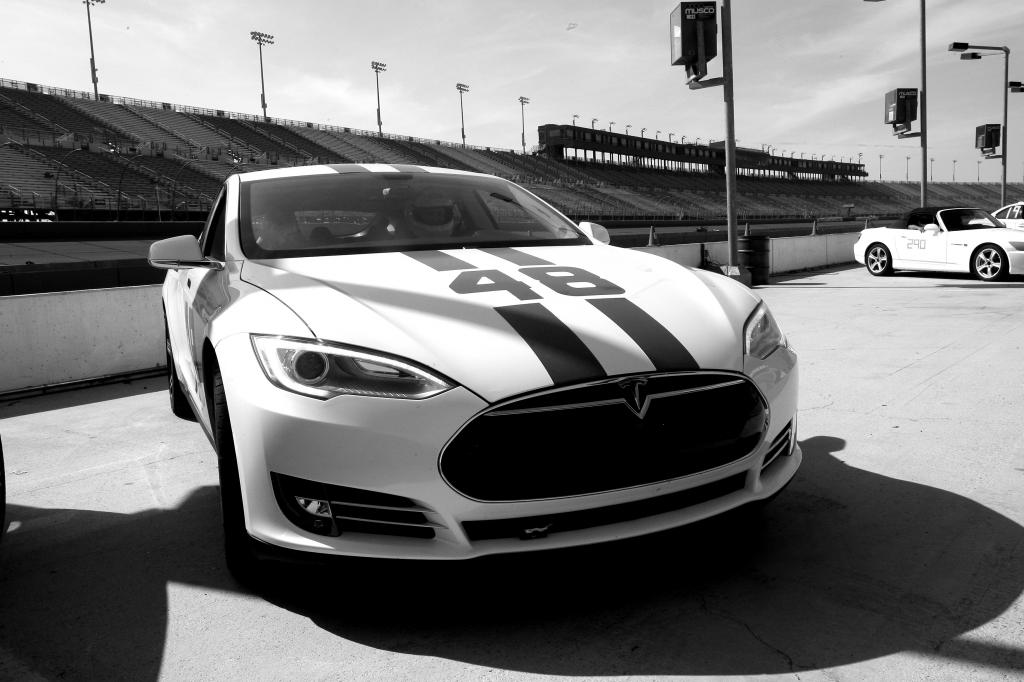 Tesla-48-Race-Car-Front-BW