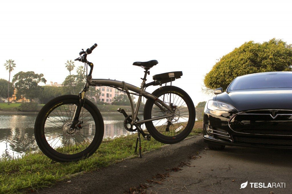 Tesla Folding Electric Bike - Prodeco Tech