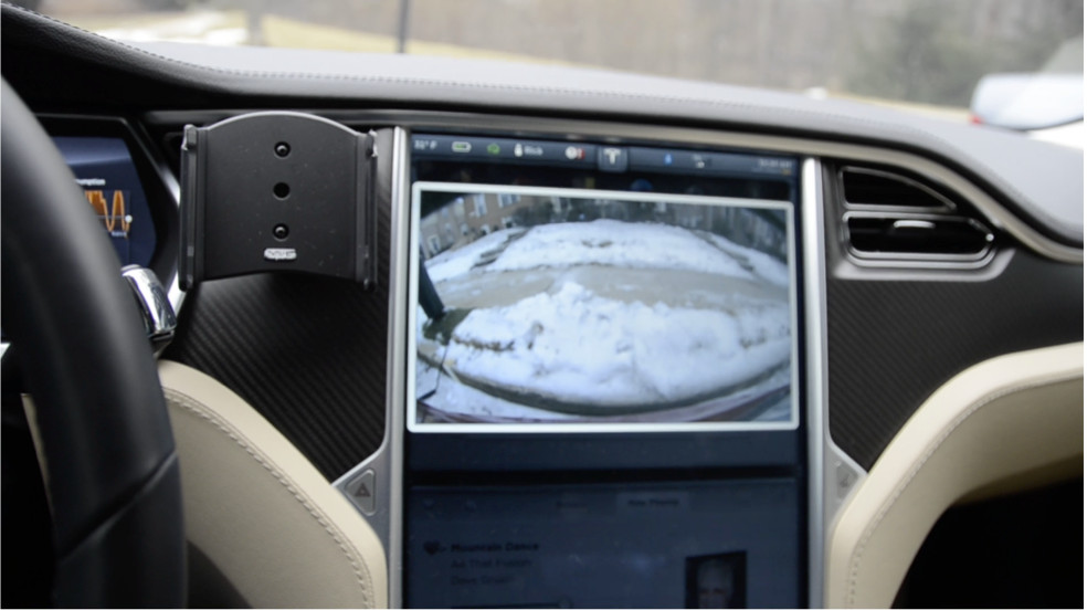 tesla model s front camera touchscreen switch kit tesla front rear camera kit rear view