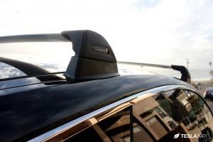Tesla Model S Roof Rack Whispbar Flush Bar