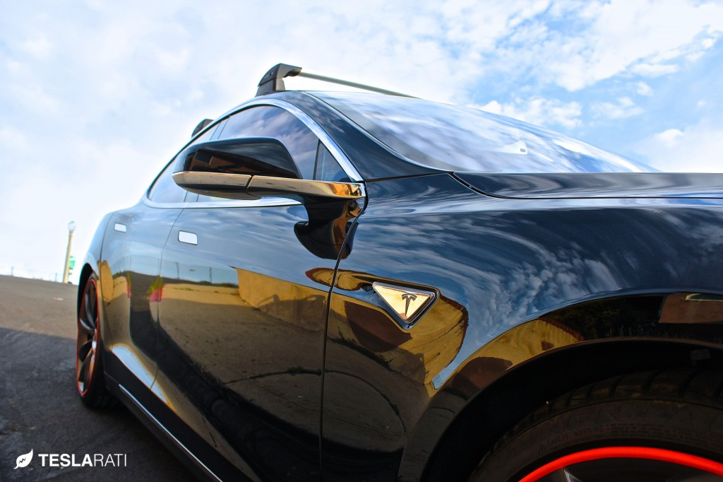Tesla Model S Roof Rack Whispbar