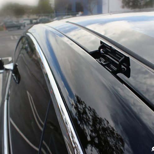 Tesla Model 3 Roof Rack System Spotted New Car Delivered