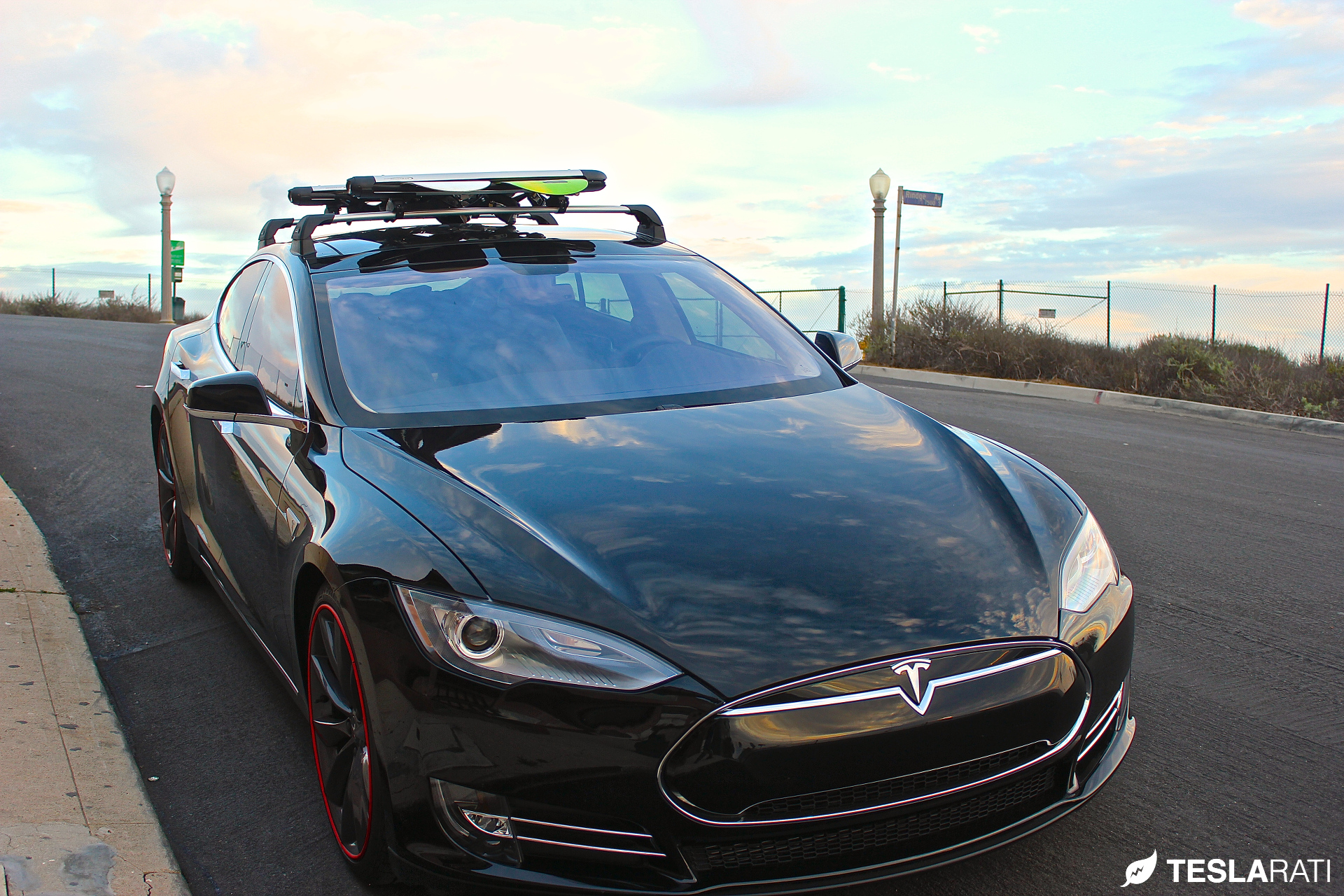 Tesla-Model-S-Whispbar-Snow-Mount-Front