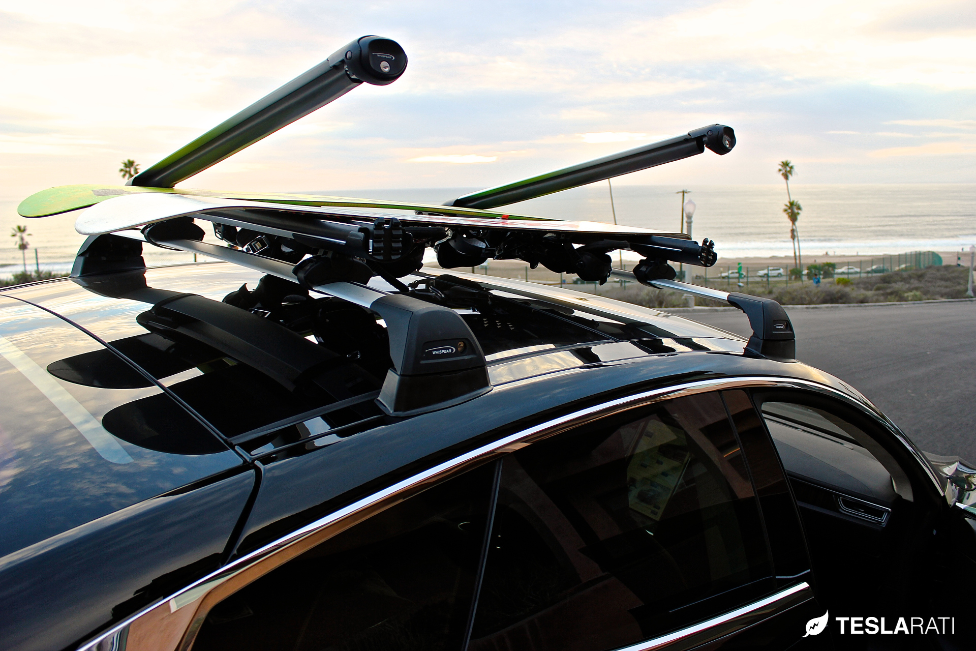 Tesla Model S Roof Rack System Whispbar Review