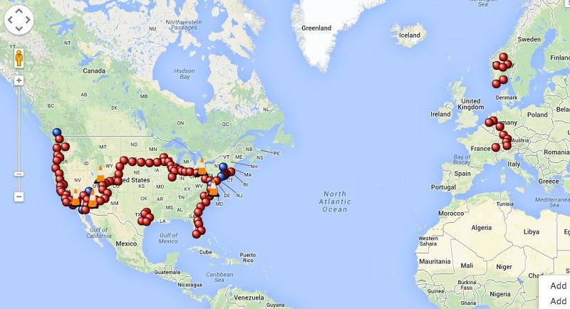 Tesla House Battery >> Interactive Tesla Supercharger Map - TESLARATI.com