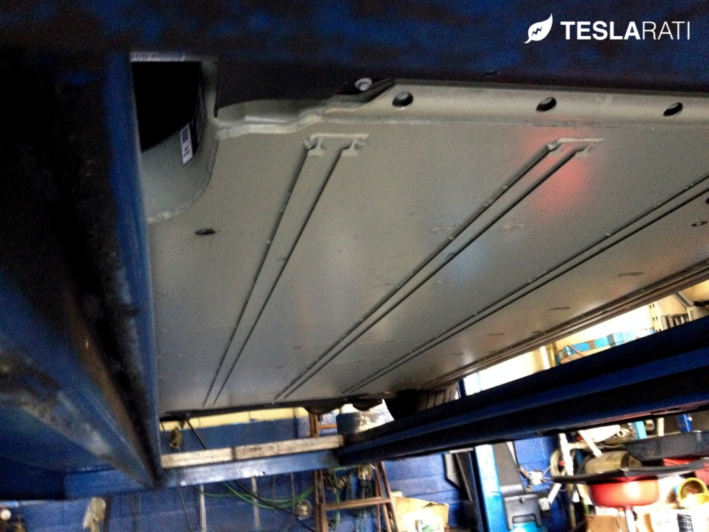 Tesla Battery Technology Underbody