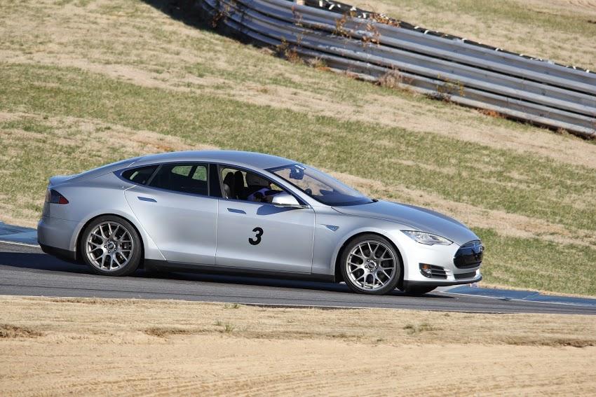 John Tamplin Model S track day