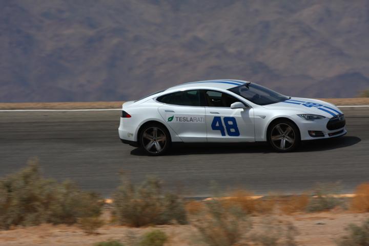 48 Tesla at Chuckwalla Raceway