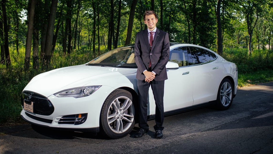 Ticket To Ride The Tesla Model S Limousine