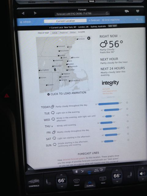 Weather Page