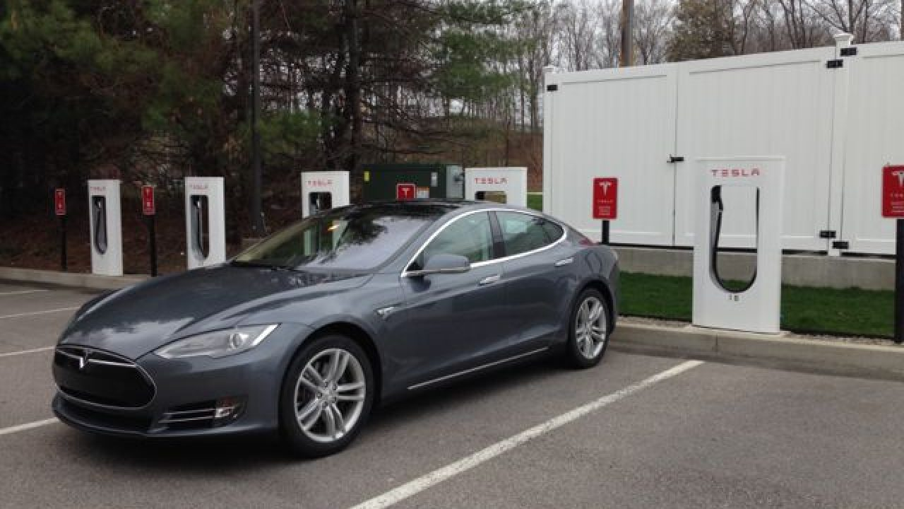 How to use a Tesla Supercharger and what to expect