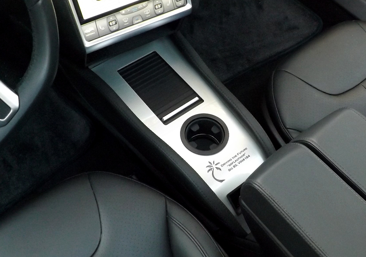 Did You Know You Can Personalize Your Tesla Center Console