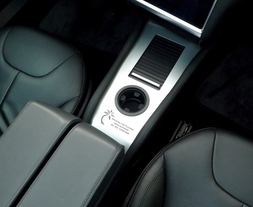 Personalized Tesla Center Console (P-CCI)