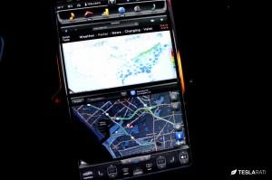 Tesla Model S Configuration - Touchscreen Infotainment