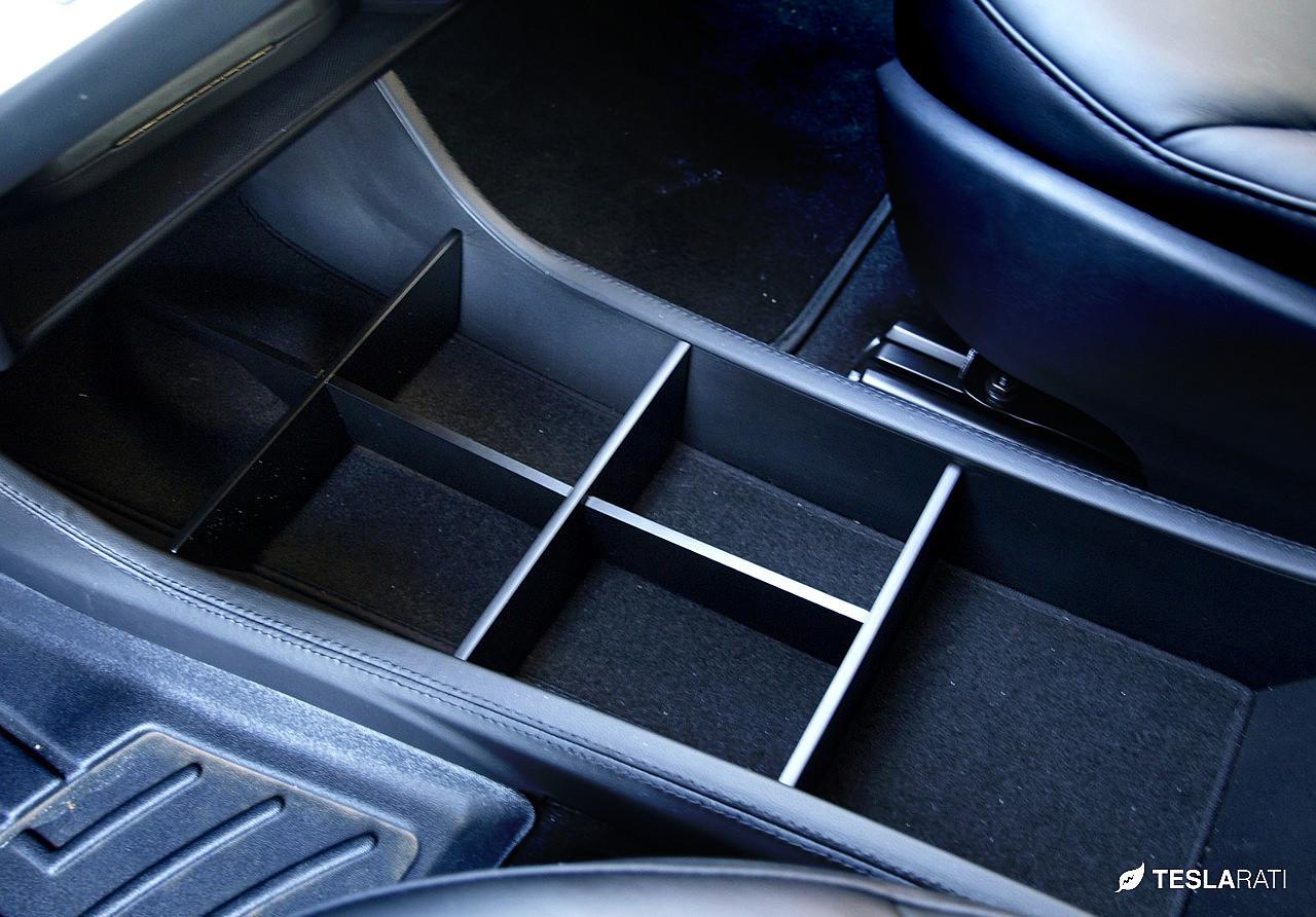 Tesla console organizer