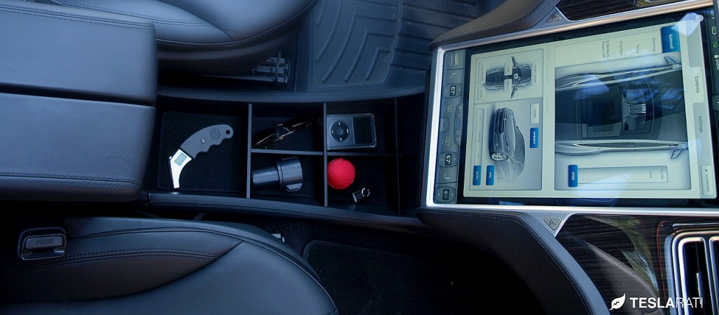 Tesla Center Console Organizer (Tesla&More)