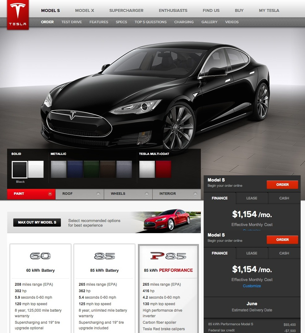 the journey to owning the tesla model s. Black Bedroom Furniture Sets. Home Design Ideas