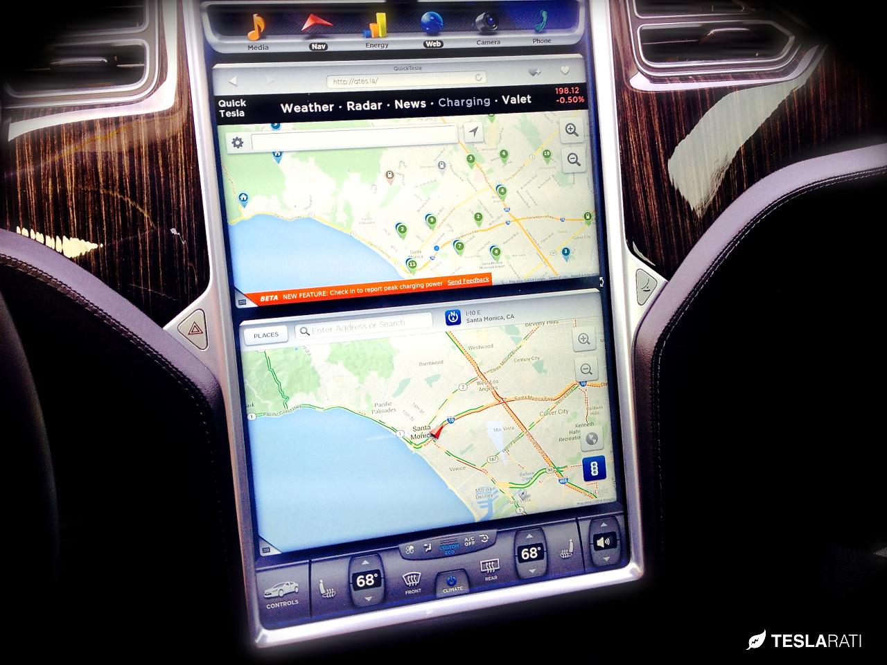 Tesla-Touchscreen-Recargo-Google