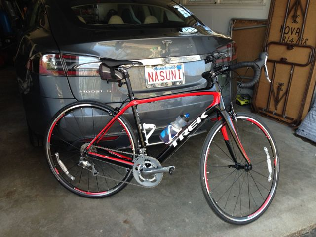 Fitting A Bike Into The Tesla Model S