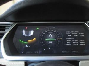Tesla Model S Parking Sensors