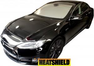 Tesla Model S Heatshield Sunshade Exterior