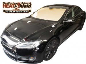 Tesla Model S Heatshield Sunshade Exterior