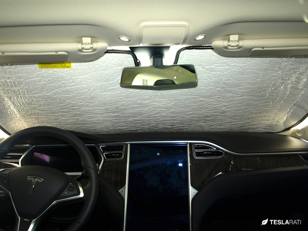 Tesla Model S Heatshield Sunshade Windshield