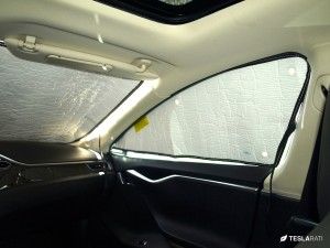 Tesla Model S Heatshield Sunshade