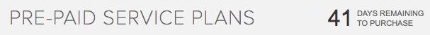 Tesla Pre-Paid Service Plan