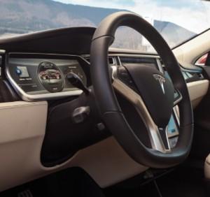 Tesla Model S Cruise Control Stalk