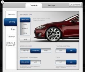 Tesla S60 vs S85 Smart Suspension