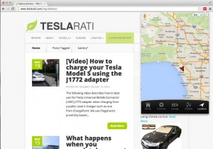 Tesla Model S Control App Location