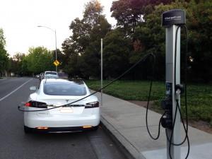 Tesla Model S J1772 Charger