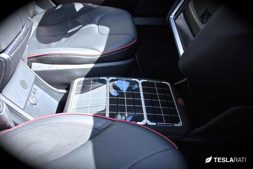 Integrating Portable Solar Panel Technology Into The Tesla