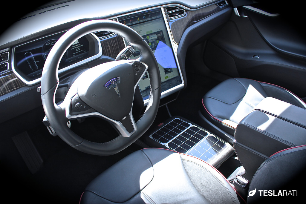 Voltaic Systems Tesla Model S Center Console