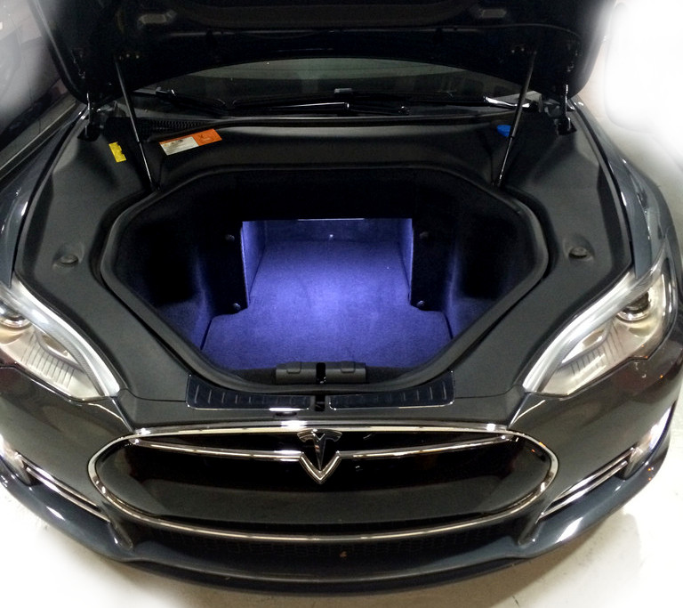 Trunk + Frunk Lighting Kit for Tesla Model S - Review