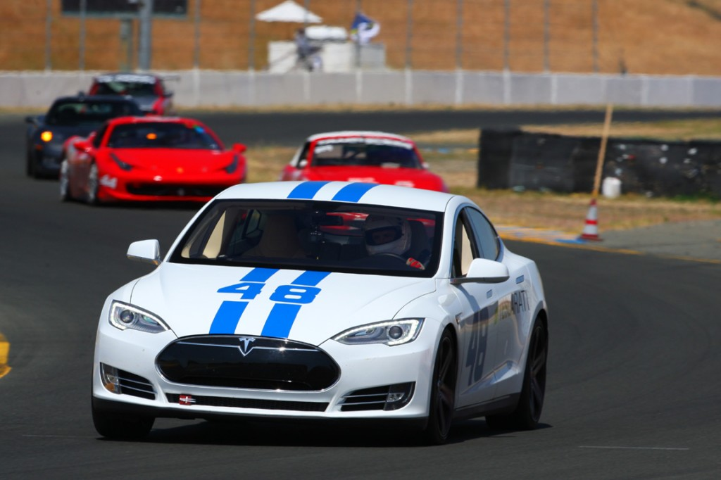 Tesla Racing First Track Day