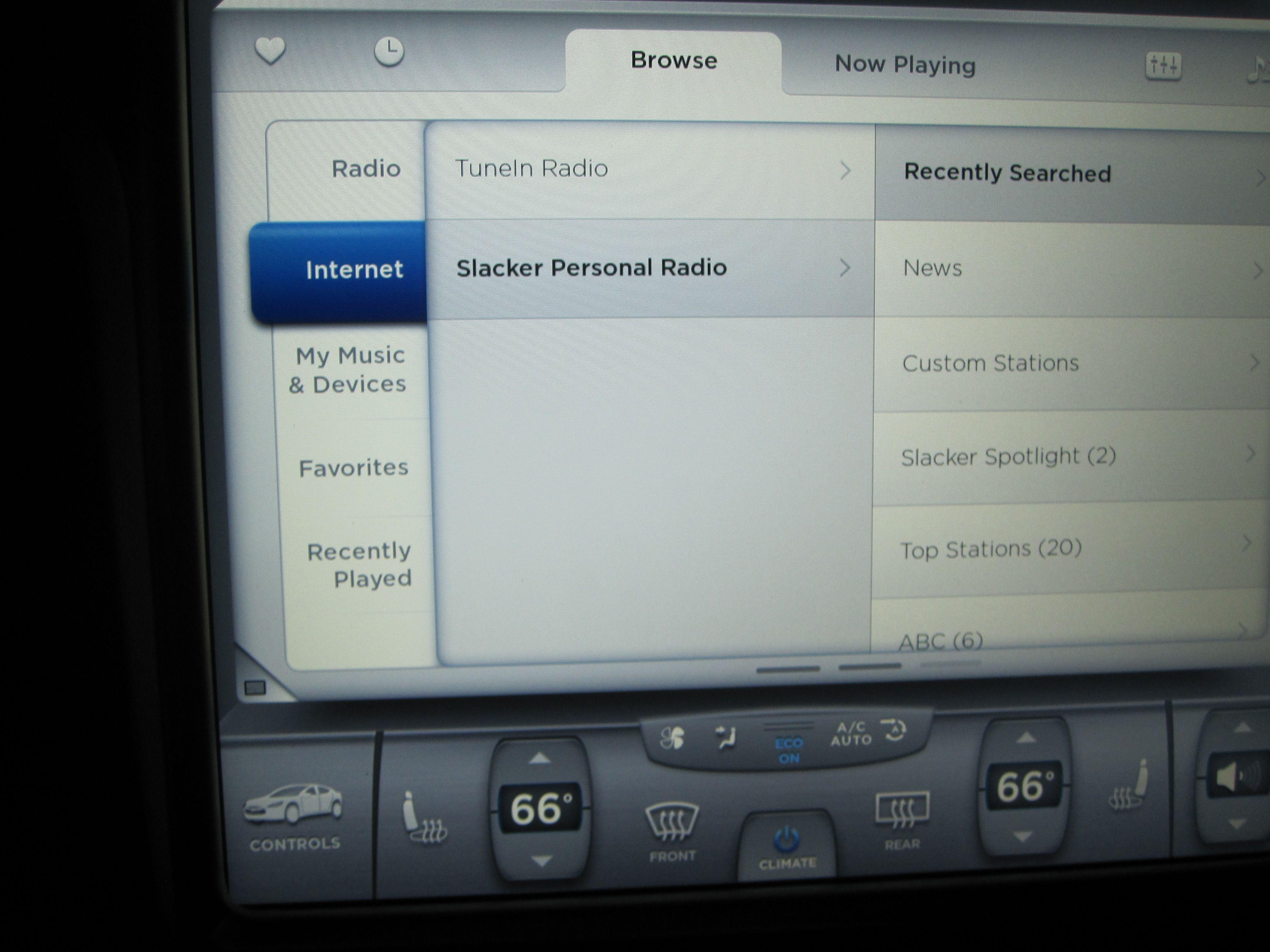 Tesla slacker radio