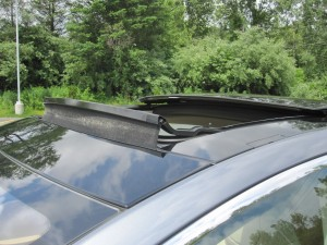 Tesla Panoramic Sunroof Sound Baffle