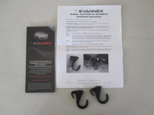 Tesla Model S Coat Hooks Packaging