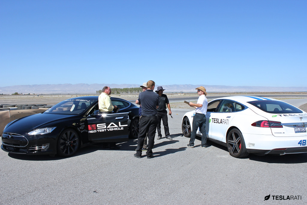 Saleen Tesla Model S - Teslarati 48 Race Car