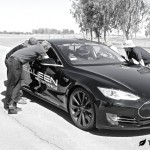 Saleen Tesla Model S Pit Crew