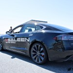 Saleen Tesla Model S Rear