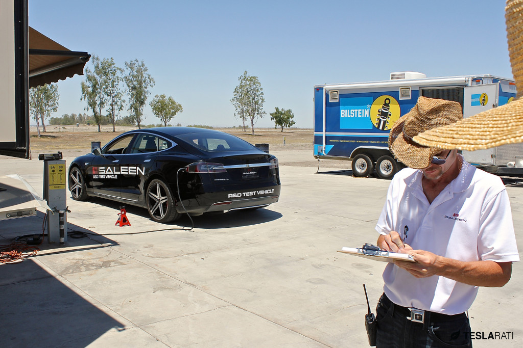 Saleen Tesla Model S Bilstein Partnership