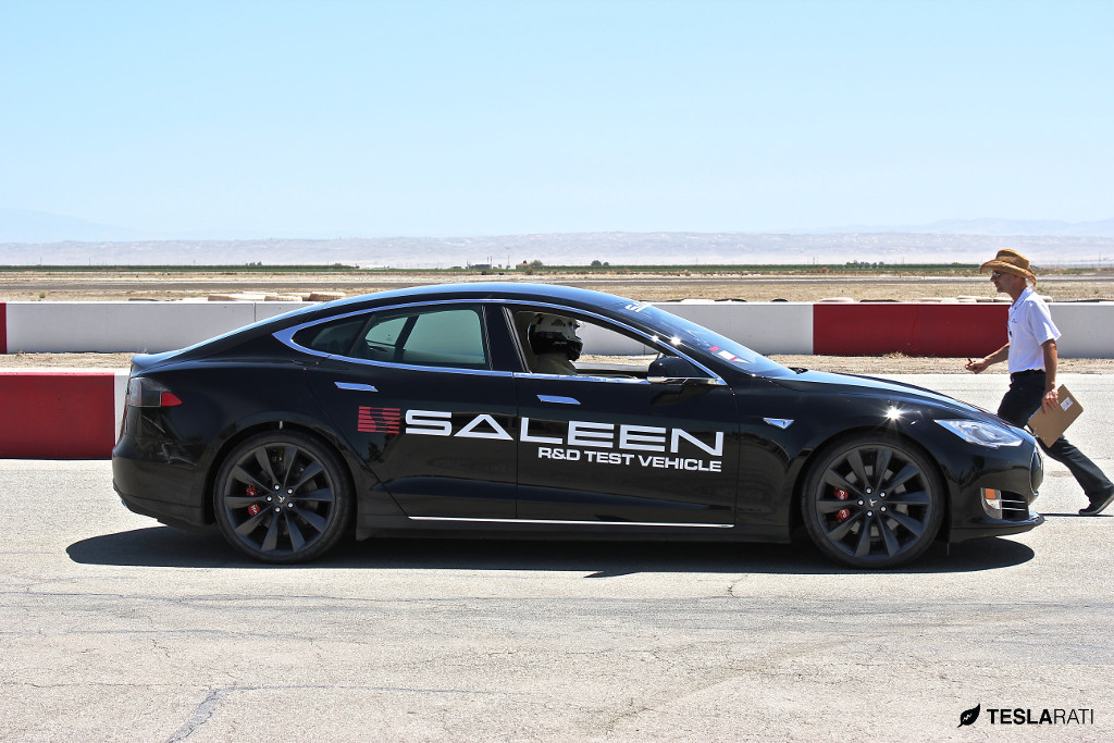 Saleen Tesla Model S - Steve Saleen Track Test